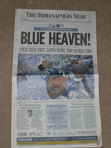 This morning's edition