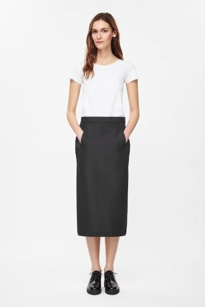 COS Technical Pencil Skirt