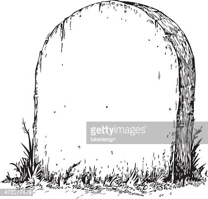Blank Tombstone Vector Art | Getty Images
