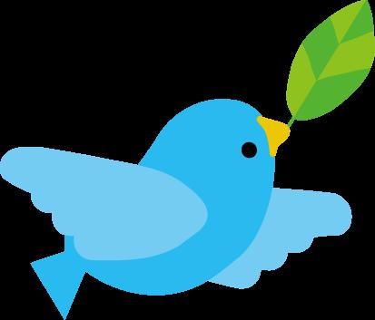 飛ぶ鳥のイラスト 無料イラストフリー素材