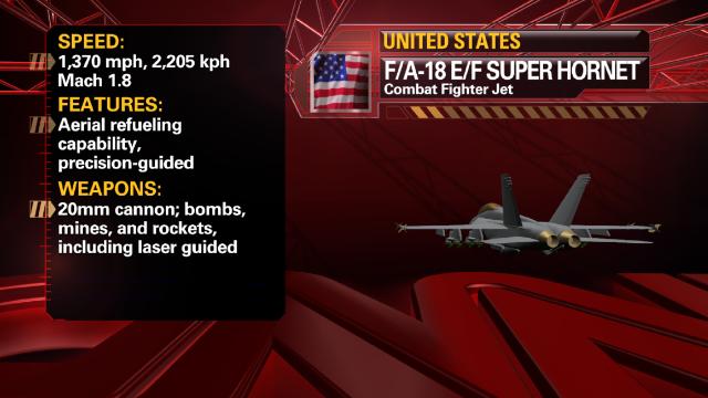 U.S. F/A-18 E/F Super Hornet