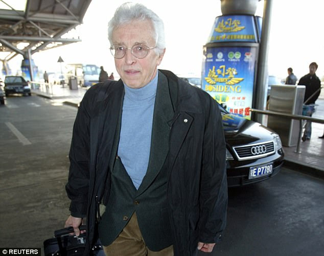 Sig Hecker (pictured leaving for North Korea in 2004), who was once in charge of designing nuclear weapons for the US, was shown around the hermit kingdom seven times and each time was given inconceivable access to confidential information