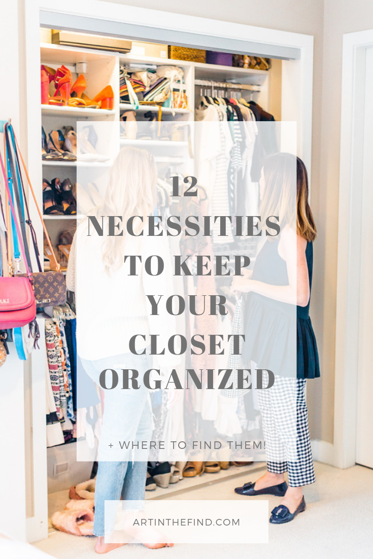 How to Keep Your Closet Organized With These 17 Essentials — Art