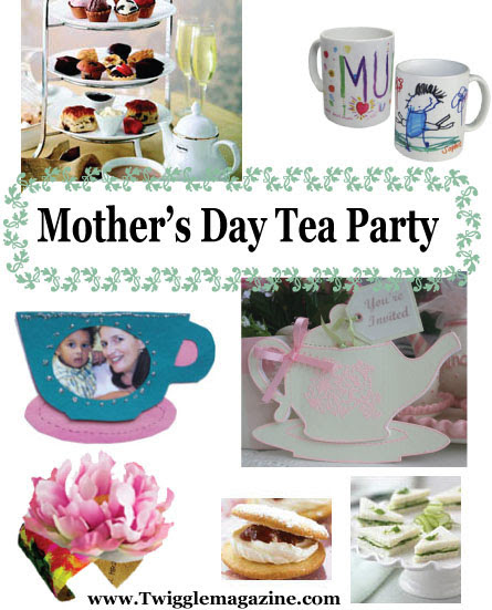 Mothers Day Tea Party Activities Crafts And Ideas
