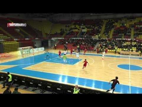 Futsal - Makedonien verliert deutlich gegen Spanien und vergibt EM Chance