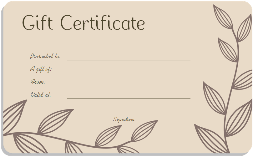 1000+ ideas about Gift Certificate Templates on Pinterest | Free ...