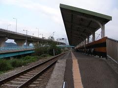 榮華站月臺