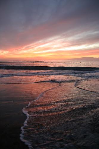 Fanabe beach  sunset 6