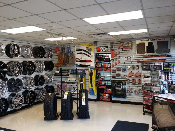 Car Detailing Shop Interior