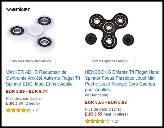 O¹ acheter des Hand Spinners pas cher Quincaillerie en ligne