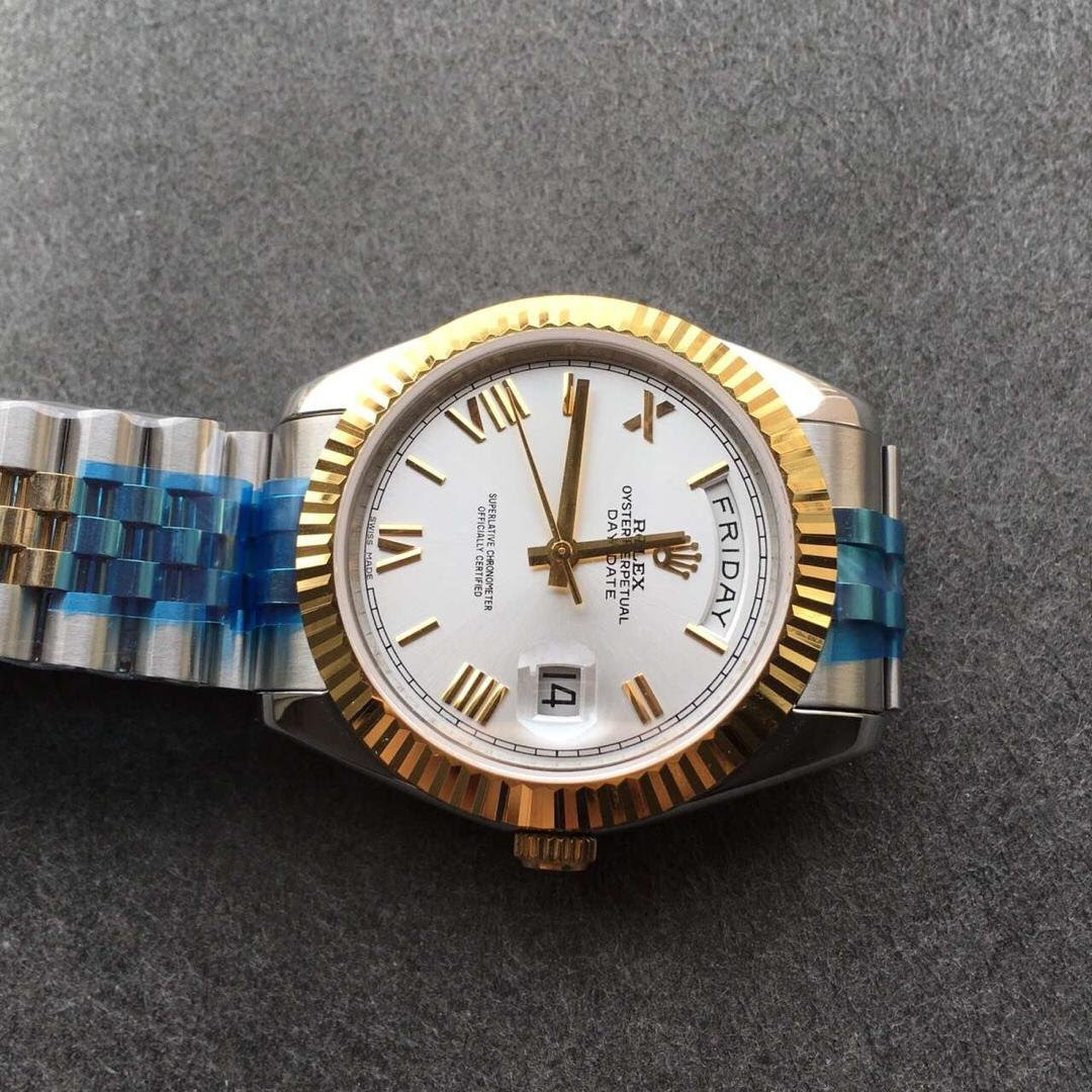 Rolex Day Date 2 White Dial