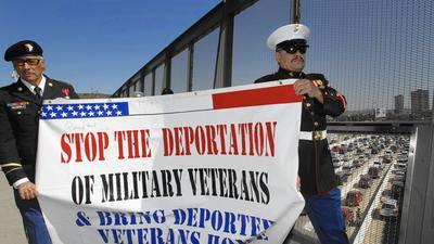 Report: Federal officials complicit in deportation of U.S. veterans