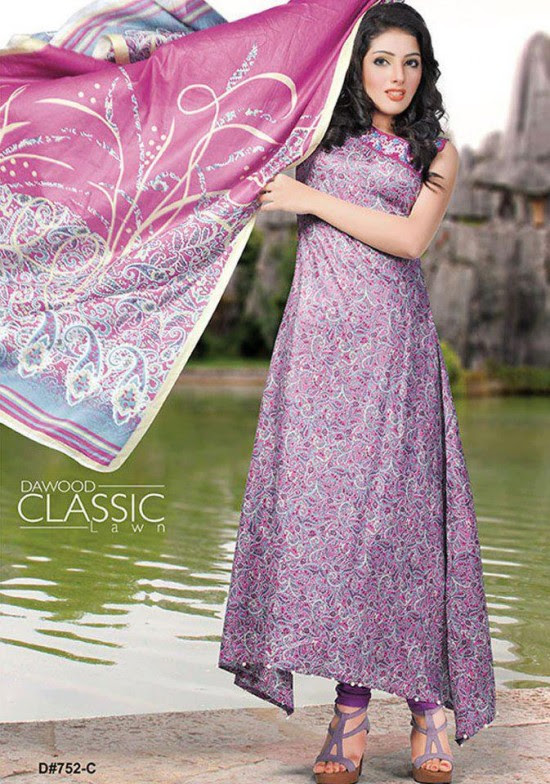 Dawood-Textile-Classic-Lawn-Collection-2013-New-Latest-Fashionable-Clothes-Dresses-8