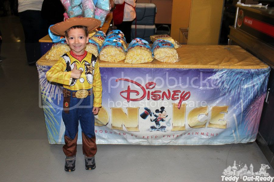 Woody Disney on Ice