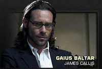 Battlestar Galactica - James Callis as Gaius Baltar