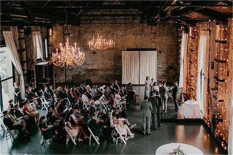 Thursday Evening Wedding at The Green Building in Brooklyn