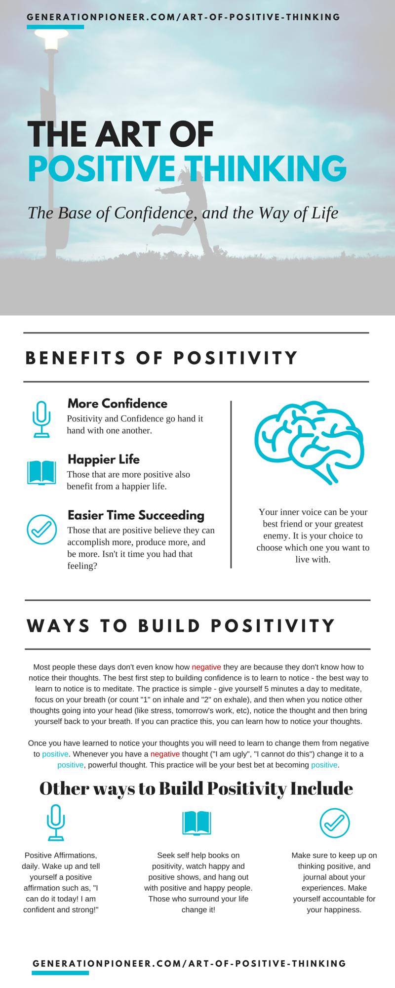 The Art of Positivity