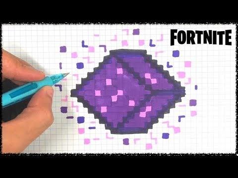 Dessin Pixel Fortnite Gourde Du Brave Fortnite Generator