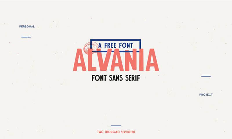 alvania-font