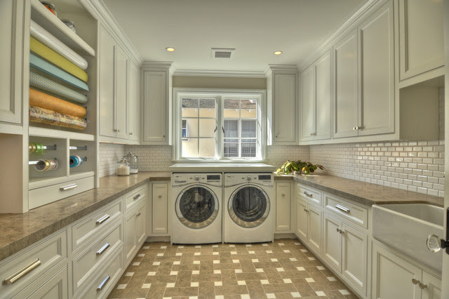 Lido Isle Home - contemporary - laundry room - orange county - by