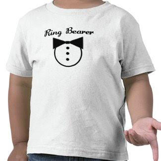 Ring Bearer T-shirt shirt