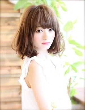 秋のヘアスタイル ミディアム - ヘアスタイル・髪型・ヘアカタログ(ミディアム)|ホットペッパー