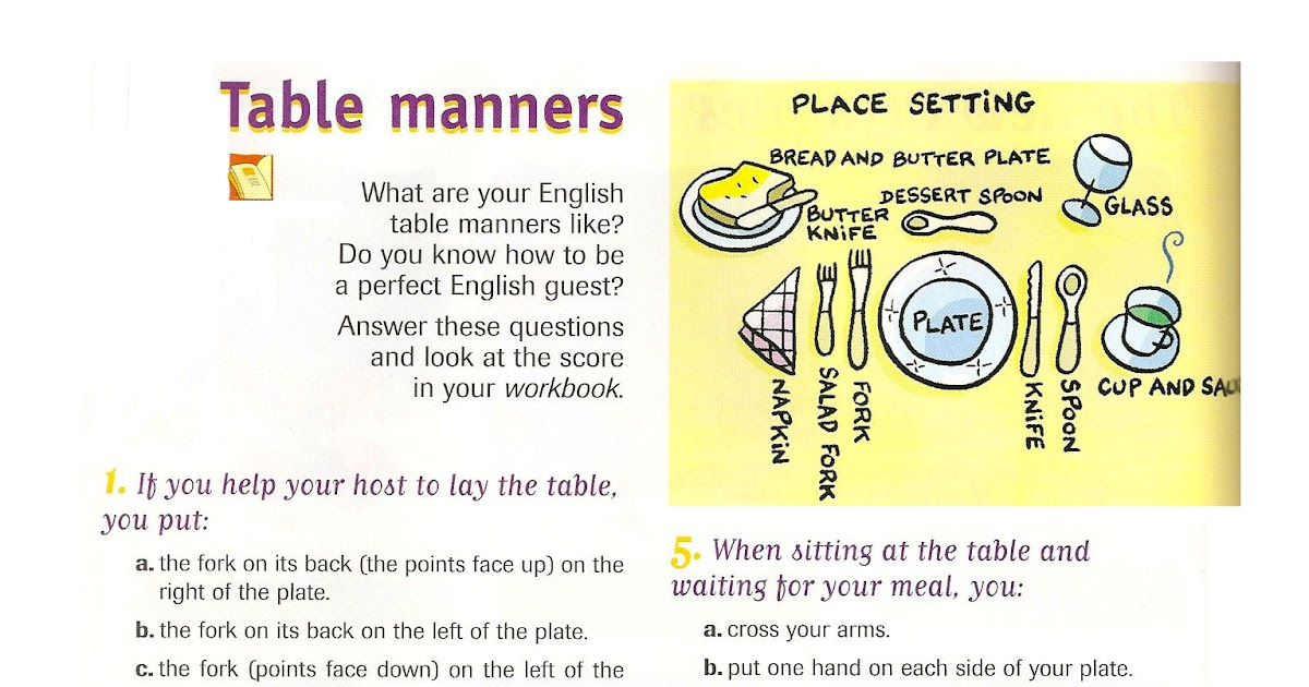 bad table manners essay Chinese table manners have three important parts, including place setting, taboos, and toast firstly, the seating arrangement is one of the important parts of dinning etiquette because the order of seating symbolizes the power, and status, the highest status which in the center facing east or facing the entrance.