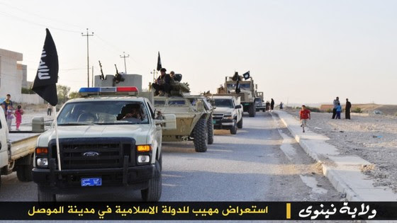 ISIS Holds Parade With Captured US Military Vehicles ISIS Mosul Parade 2 thumb 560x315 3325