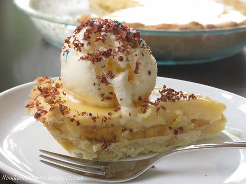 banana ice cream pie