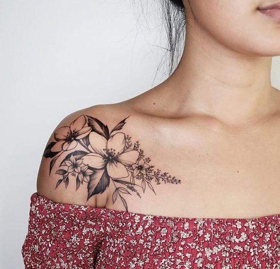76 Ideas únicas Para Tatuajes En El Hombro Significados