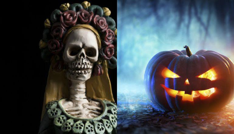 Día De Muertos Día De Muertos Y Halloween Cuáles Son Sus