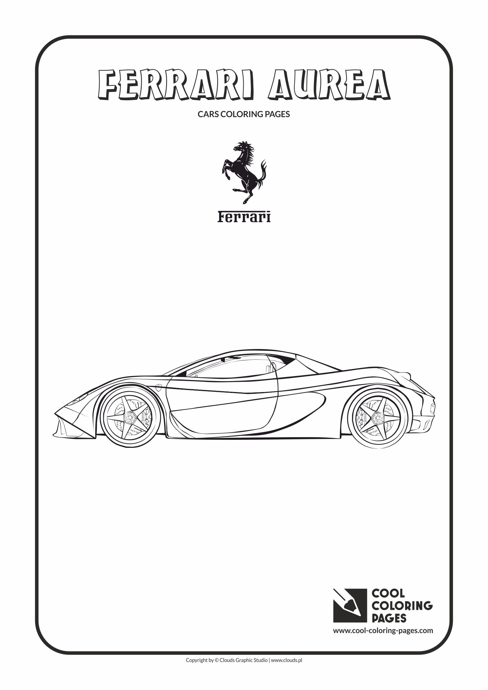 Ferrari Logo Coloring Pages Coloring Our World