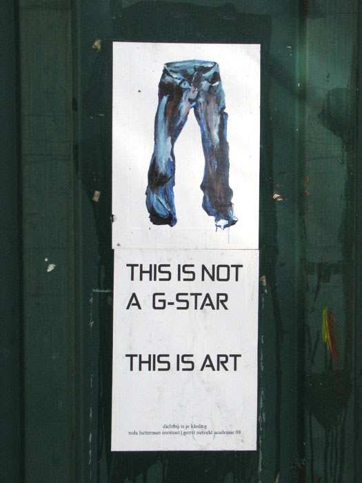 this is not a g-star