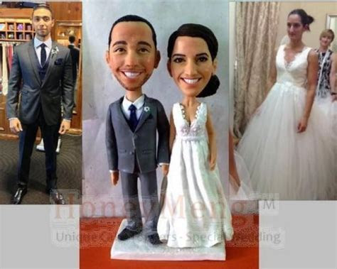 Cheap Custom Wedding Cake Toppers Head To Toe Personalized