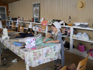Ranchfest Sarah Sewing
