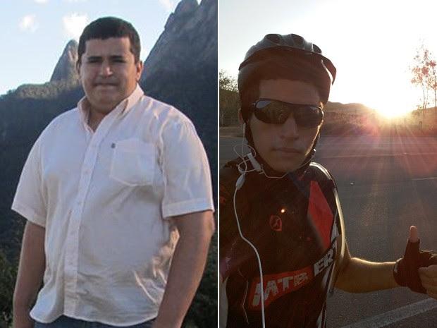 Hoje, Daniel pratica corrida e pedala três vezes por semana e tem estimulado hábitos saudáveis em outras pessoas da cidade (Foto: Daniel Figueira Galete/Arquivo pessoal)