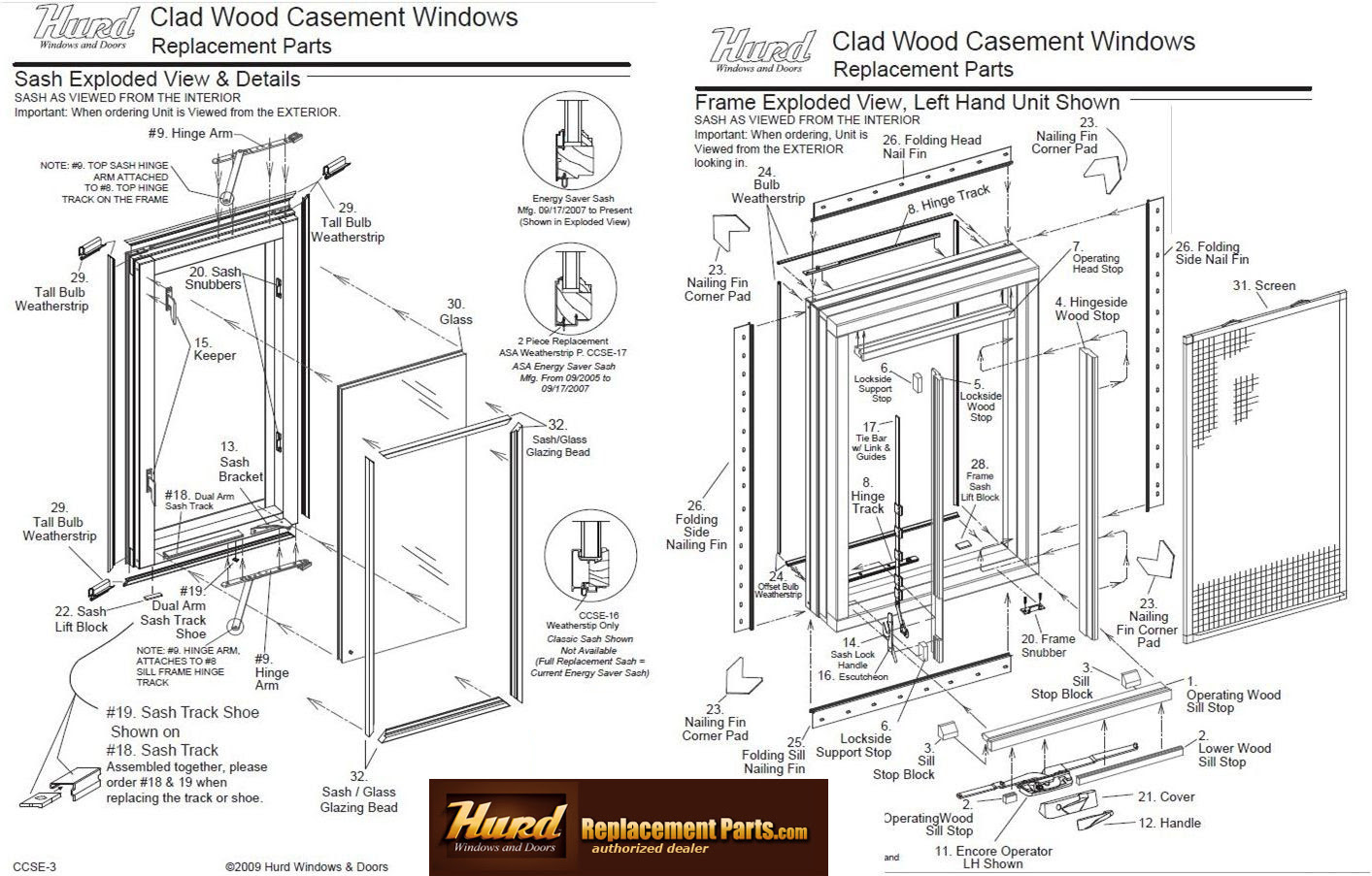 13 Awning Windows Replacement Parts Image