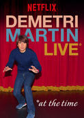 Demetri Martin: Live (At the Time) | filmes-netflix.blogspot.com