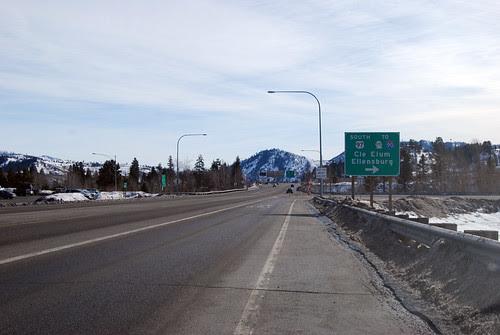 US 2 @ US 97 southward