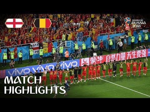 England Versus Belgium;0-1