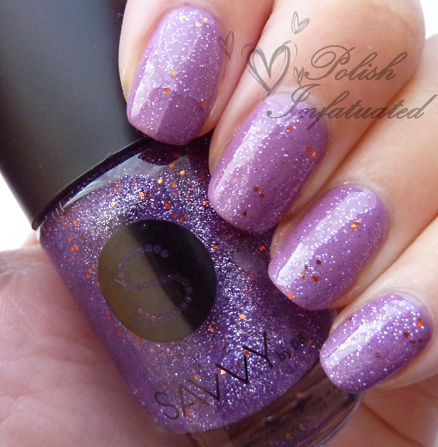 uptown girl layered with purple viking1