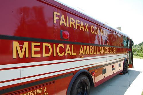 Fire Ambulance Bus by fairfaxcounty