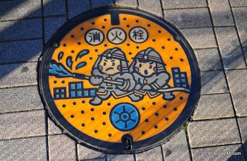 Japan manhole cover