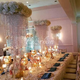 crystal flower stand wedding centerpiece 80 cm tall