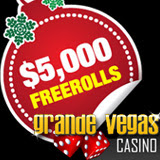 Grande Vegas Casino Freeroll Slots Tournaments Holiday Prizes