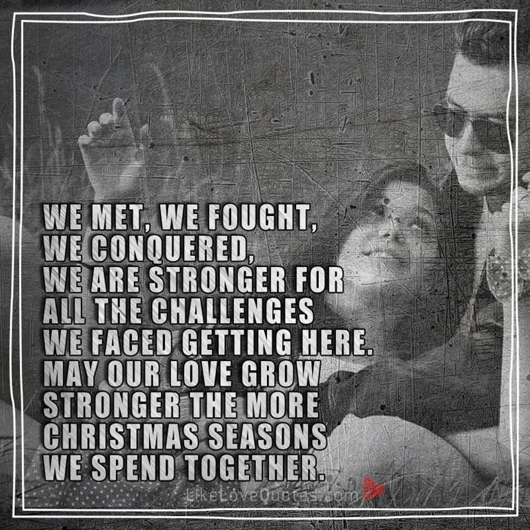 May Our Love Grow Stronger Likelovequotescom