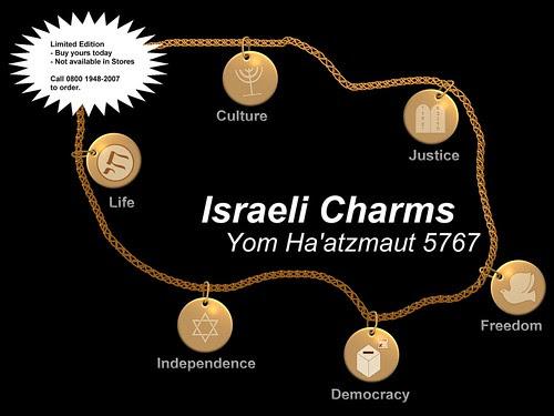 Israeli Charm Bracelet