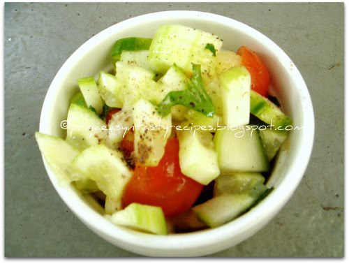 Persian Cucumber & Tomato Salad
