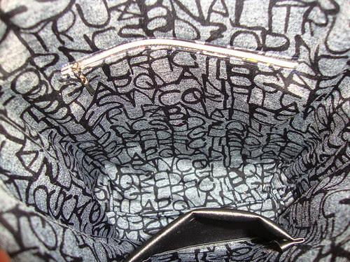my new vinyl tote bag