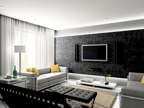 Interior Design in Contemporary style | InteriorHolic.com
